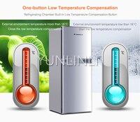 Бытовой двухдверный холодильник Топ-морозильник Тип холодильника 137л внутренний холодильник 38л морозильная камера FBCD-137C