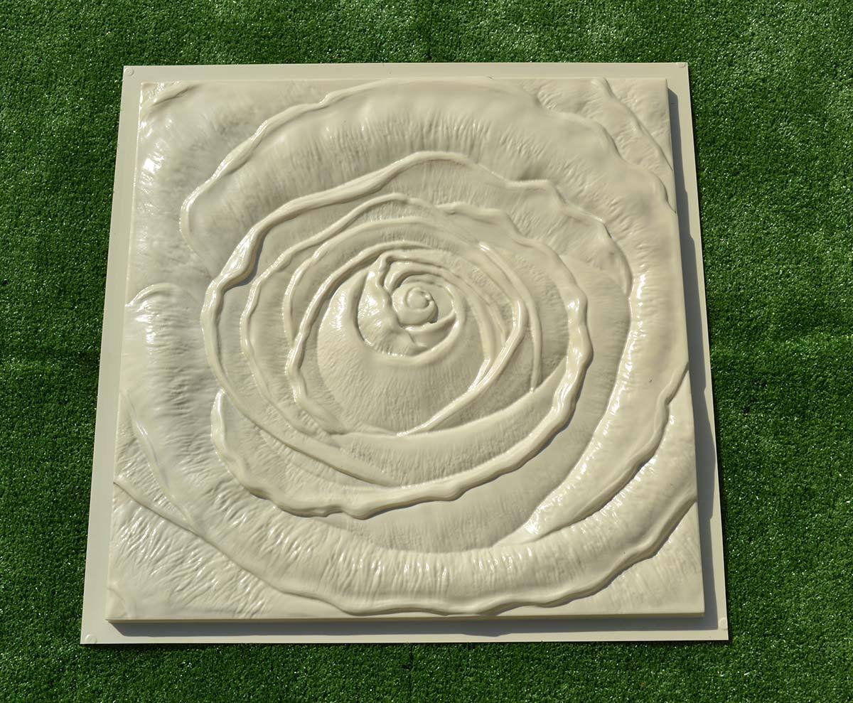 Light Equipment & Tools *rose Flower* 3d Decorative Wall Panels 1 Pcs Abs Plastic Mold For Plaster And To Have A Long Life.