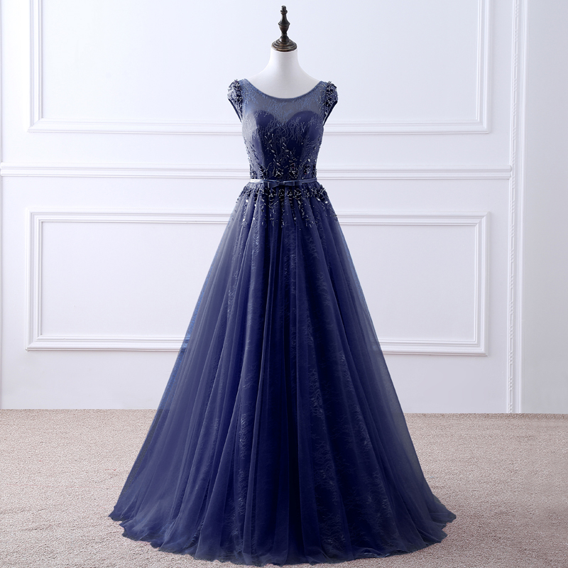 TW0201 Multi Color Elegant Long Sweetheart-Neck Prom Dress Chiffon Formal Party Dress