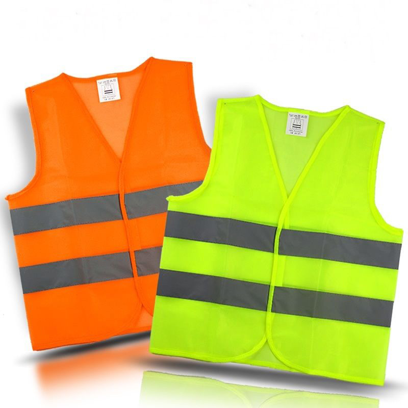 Workplace Safety Supplies Hi Vis Two Tone Safety Vest With X On The Back Reflective Waistcoat Breathable Mesh Vest Orders Are Welcome.