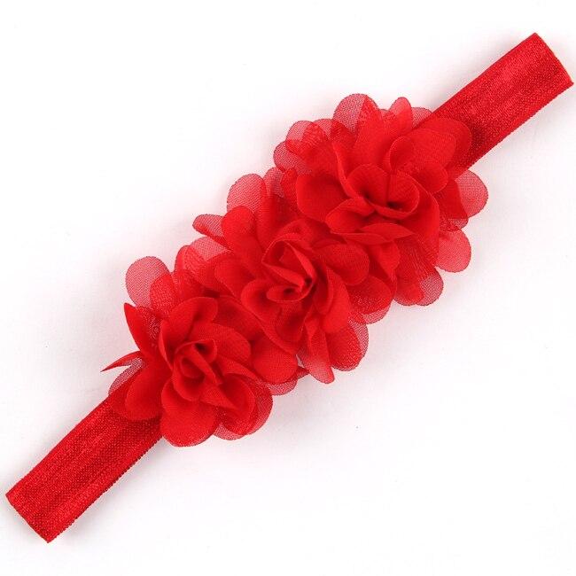 TWDVS Diadema de flores Bandas para el cabello recién nacidas Arco - Accesorios para la ropa - foto 5