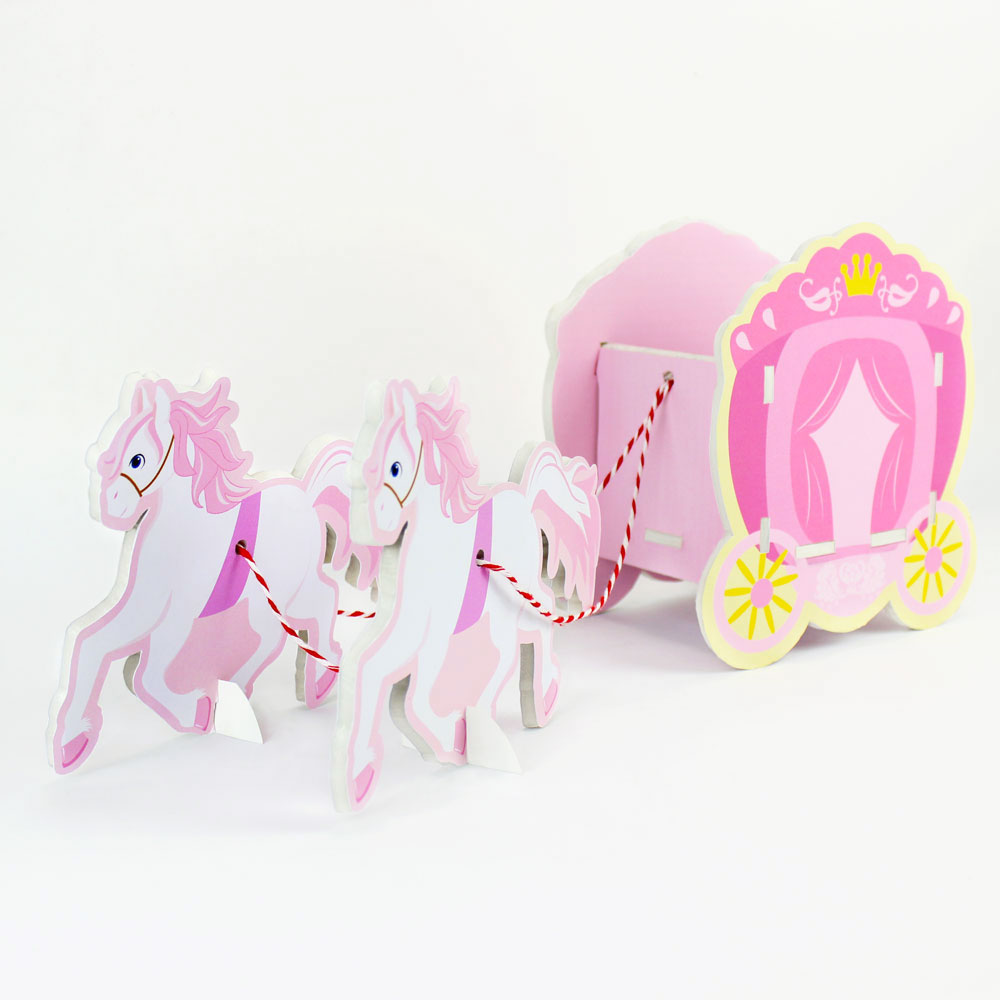 Princess Carriage Candy Box Table Centerpiece Party Decoration Table ...