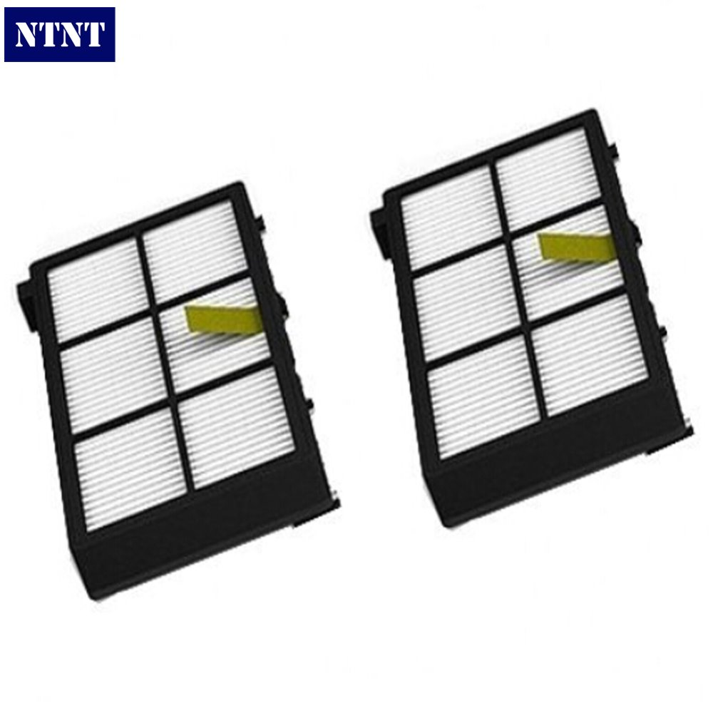 NTNT 2 PCS For iRobot Roomba 800 series 870 880 vacuum cleaner HEPA Filter parts Kit ntnt free post 2 x hepa filter filters for irobot roomba 800 series 870 880 new