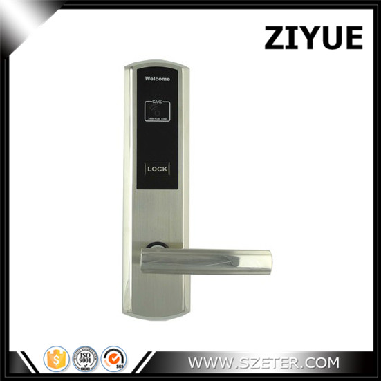 Digital Electric Door Lock RFID Card Hotel Electronic Door Locks for Hotel Apartment Home Office Room ET811RF lachco card hotel lock digital smart electronic rfid card for office apartment hotel room home latch with deadbolt l16058bs