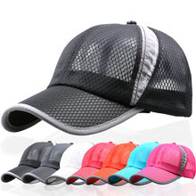 9ba1166a3e Primavera Verão das mulheres Dos Homens bonés de Beisebol snapback tampas  de secagem rápida chapéu de