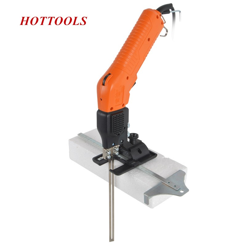 New 220V/110V 200W Air cooling Electric Foam Knife Cutting Tool Hot Slotting Knife Foam Carving Contuniously Working Durable