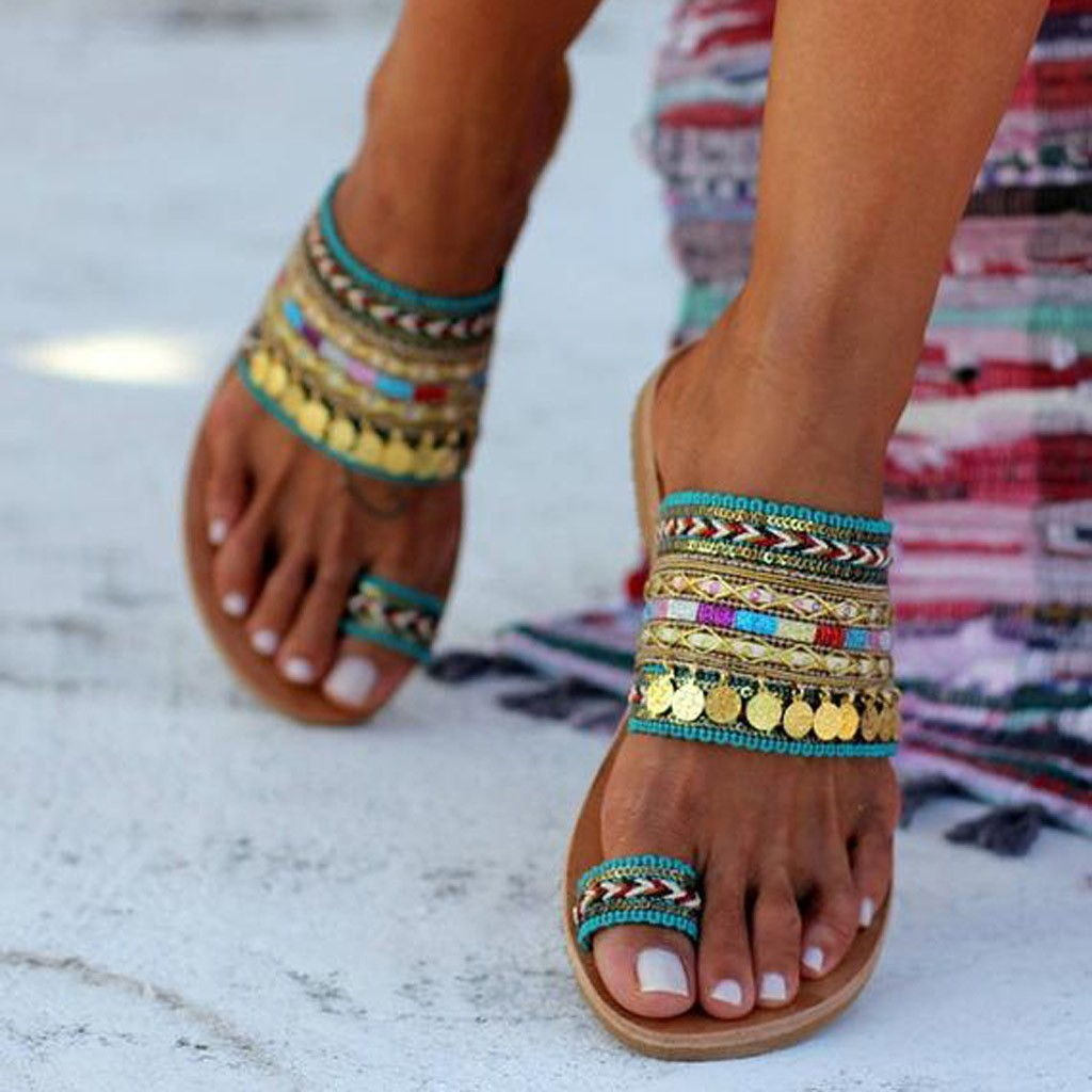 Женские сандалии ручной работы в греческом стиле; сандалии Вьетнамки в стиле бохо; уличная модная обувь; женская обувь; chaussures femme