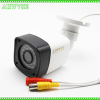 New Arrival 1920 1080P AHD 3000TVL Security Mini Surveillance Outdoor Waterproof 4 Array Infrared 2MP CCTV