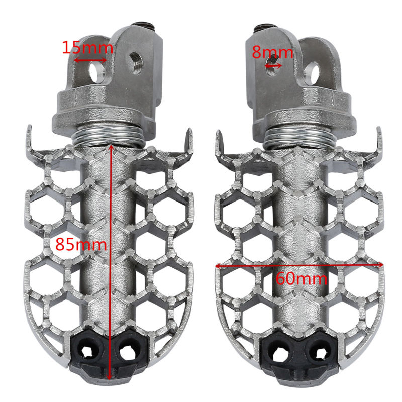 Left Right Side Stainless Steel Rider Foot Pegs For BMW F800GS 2008-2016 2014 new 2pcs female right left vivid foot mannequin jewerly display model art sketch