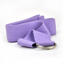 Professional Convenient Durable Cotton Yoga Belt