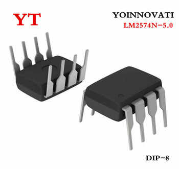 100 PCS LM2574N-5.0 LM2574N DIP8 IC Best quality - DISCOUNT ITEM  25 OFF Electronic Components & Supplies