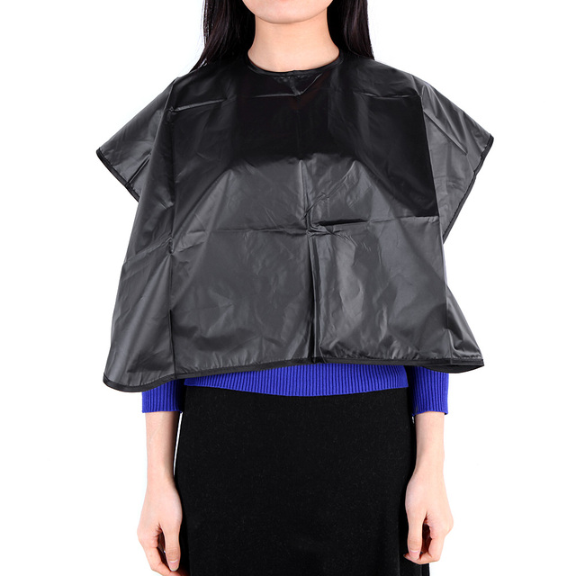 Black Hair Cut Hairdressing Cape Waterproof Salon Barbers Hairdresser Coloring Perming Cloth Styling Tool
