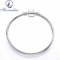 2017 New Collection Authentic 925 Sterling Silver Bangles For Women Silver Indian Bracelet Bangle Cuff Vintage