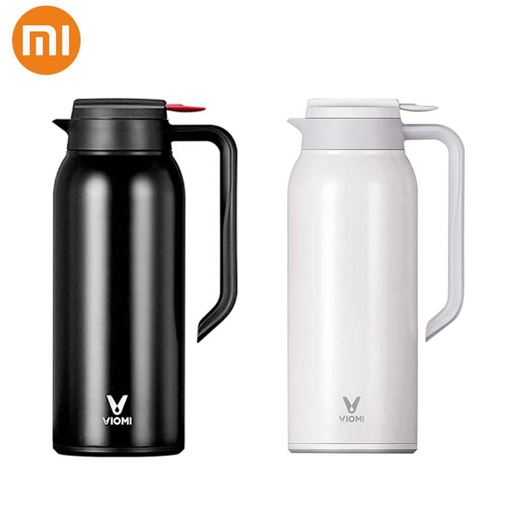 Xiaomi VIOMI Thermos Cups Mijia 1.5L Stainless Steel Vacuum Thermos Bottle 24 Hours Flask Portable Insulation Water Kettle new