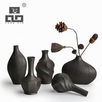 TANGPIN European Modern Fashion Mini Ceramic Flower Vase For Homes Decorative Vases Vases For Wedding Decoration