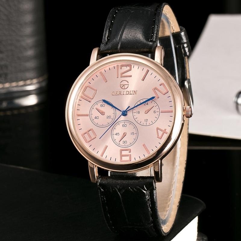 GERIDUN Reloj de los hombres de la marca de lujo famoso reloj de - Relojes para hombres - foto 4