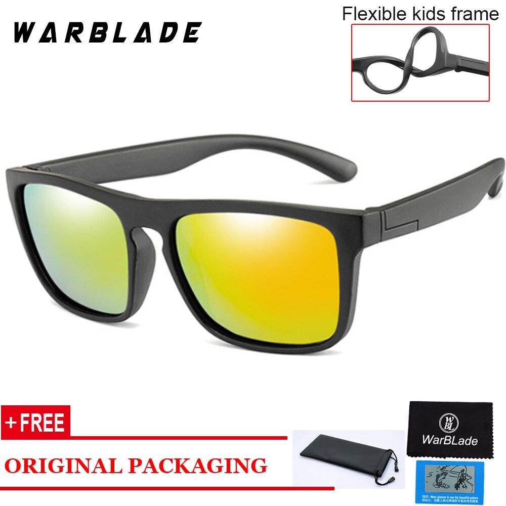 Sonnenbrille Kinder Polarisierte Kinder Klassische Marke Designer Brillen TAC TR90 Flexible Sicherheit Rahmen Shades Für Junge Mädchen