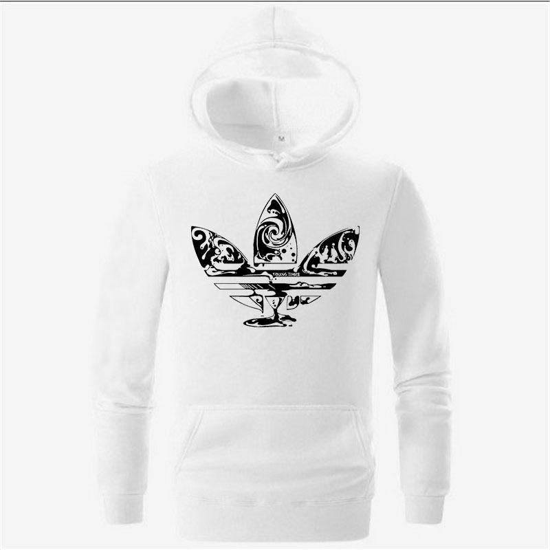 2018 New brand Hoodie Hip Hop White red Black gray pink Hooded Streetwear Hoody Mens Hoodies and Sweatshirts 3d Size M-XXL