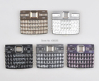 White/Black/Gold/Grey/Purple New Housing Main Function Keyboards Keypads Buttons Cover For Nokia E72 , Free Shipping