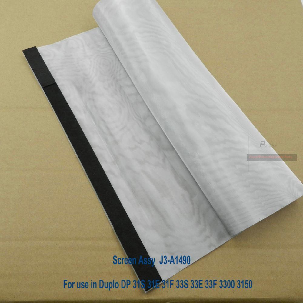 New B4 Screen Assy J3-A1490   For Duplo 31S 31E 31F 33S 33E 33F 3300 3150 Dupicator Parts Outlets краска черная duplo f 04h f550 f850 1000 мл