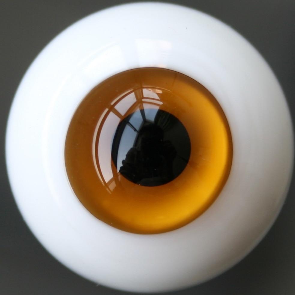 10mm Light Brown Eyes For BJD AOD DOD Dollfie Glass Eye Equipment PF