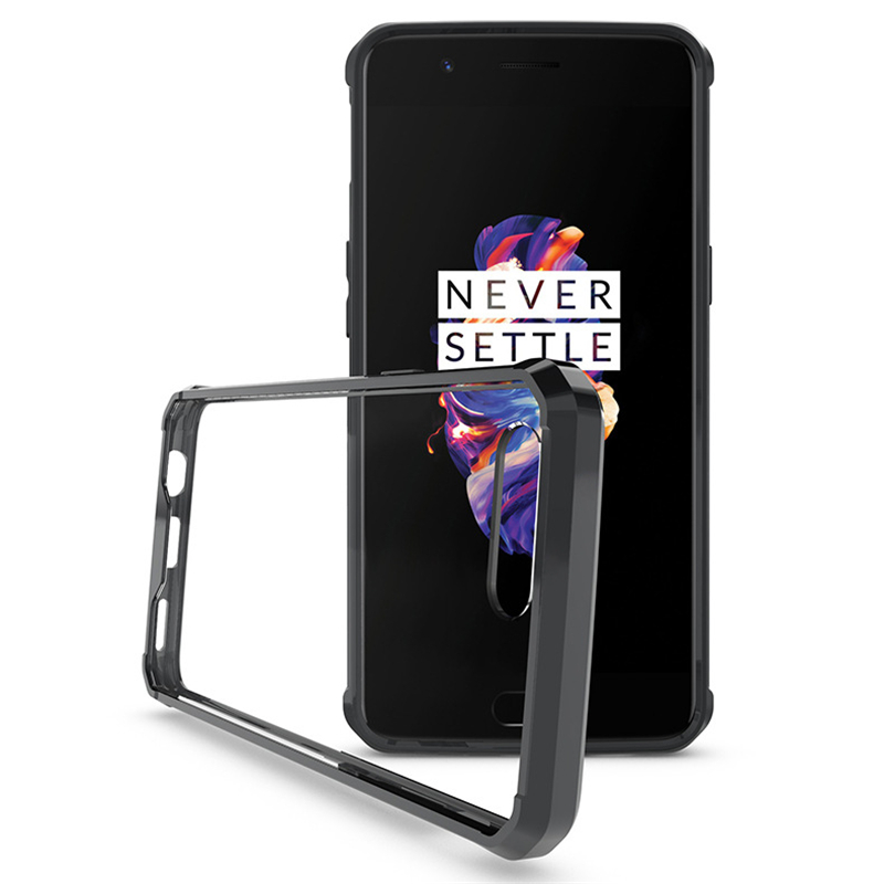Airbag Bumper Protection Case For Oneplus 6t Mclaren: Aliexpress.com : Buy Crystal Clear Case For Oneplus 5