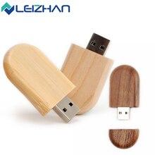 LEIZHAN Wood Pendrive 8gb USB Flash Drive 16gb usb Stick 4gb 64gb Pen Drive 32gb Memoria usb Stick Wholesale Comuter U Disk все цены