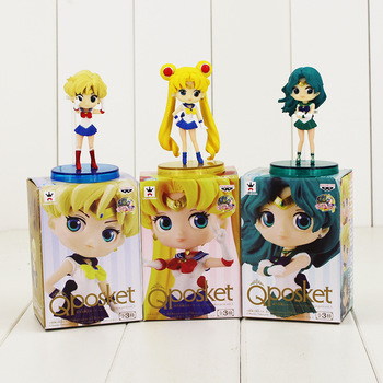 Figuras Q posket de Sailor Moon Sailor Moon
