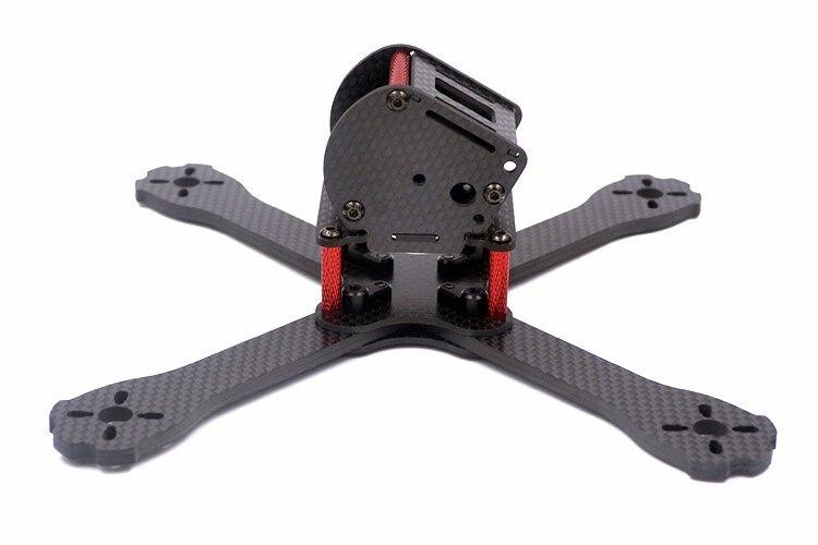 DIY FPV QAV-X5 GTS 5 195mm quadcopter 3K pure carbon fiber frame for T5045BN V2 propeller 3 blades mini racing drone 220mm high speed 3k carbon fiber 220x qav r qav220 mini fpv rc racing drone quadcopter with f4 flight controller
