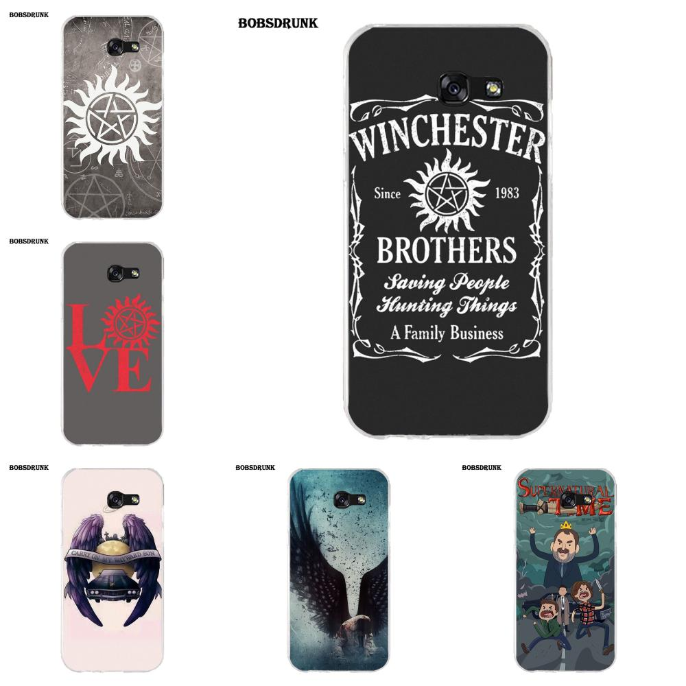 EJGROUP Soft TPU Coque Case Capa For Samsung Galaxy A3 A5 A7 J1 J2 J3 J5 J7 2015 2016 2017 Minions Supernatural image