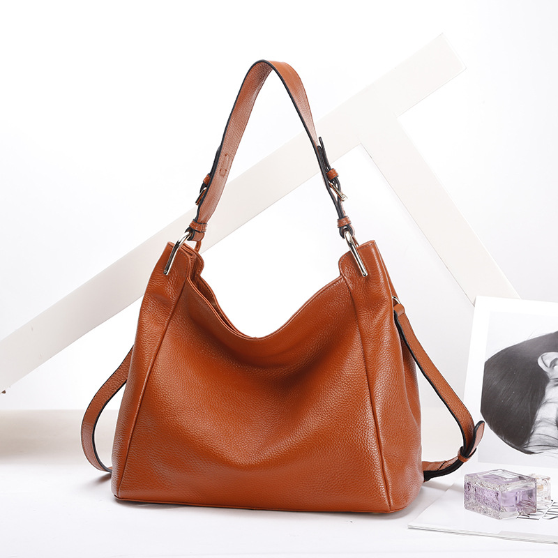 Genuine Leather Handbag Female Large Messenger Bag Women Shoulder Bags Fashion Ladies top-handle Bags Ladies Totes Crossbody Bag new genuine leather totes female shoulder crossbody bags for women leather handbag ladies messenger bag large top handle bag