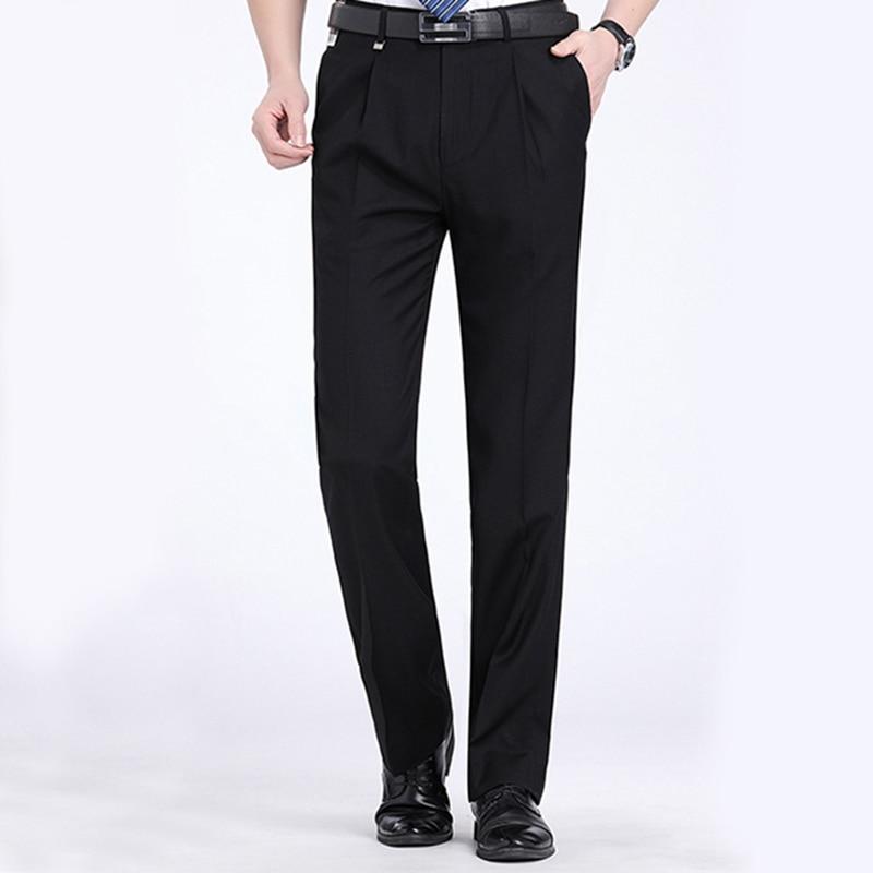 2018 Formal Wedding Men Suit Pants Fashion Slim Fit Casual Brand Business Blazer Straight Dress Trousers ...