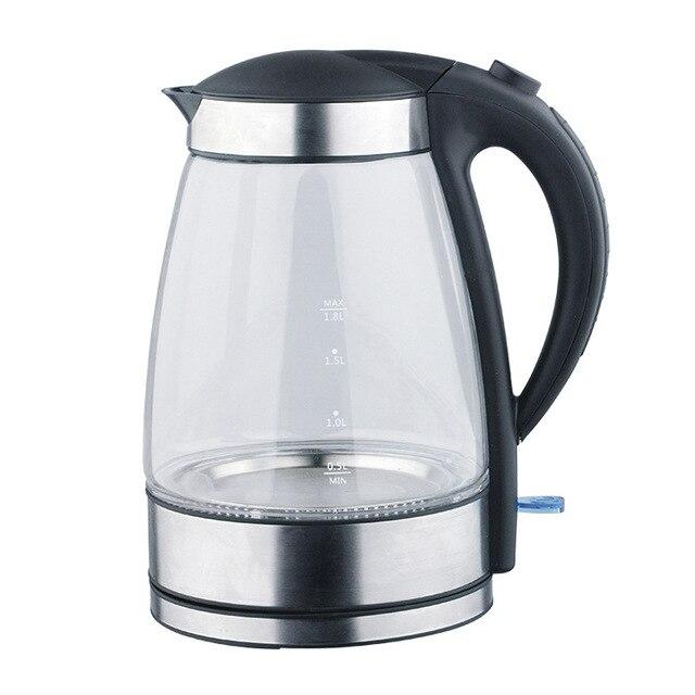 Cx02 1 Freies Verschiffen Blaue Led Glas Wasserkocher