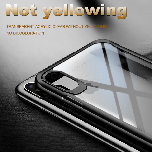 Luxury Shockproof Phone Case On The For IPhone XS Max X XR Soft Transparent Case Cover For IPhone 8 7 6 6s Plus Soft Bumper Case