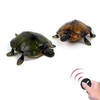 1 cái Vui Novelty Phim Hoạt Hình đồ chơi Hồng Ngoại Điều Khiển Từ Xa Mô Phỏng rùa RC Animal ảo Toy trẻ em kids quà tặng vui v