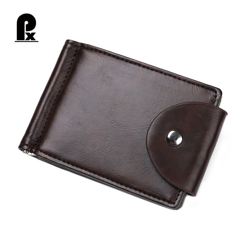 Pacento 2017 Famous Brand Men Wallet with Money Clip Male Vintage Purse Bifold Wallet Minimalist Wallet Thin Purse Nice Purchase