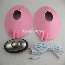 adult games electro play breast pads stimulation therapy massager cups bdsm bondage electric shock sex toys for women pink
