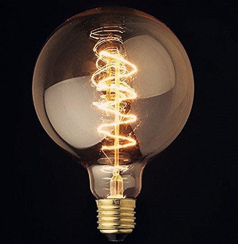 Lightinbox Vintage Light Bulb Filament E27 Edison Style - Spiral Globe