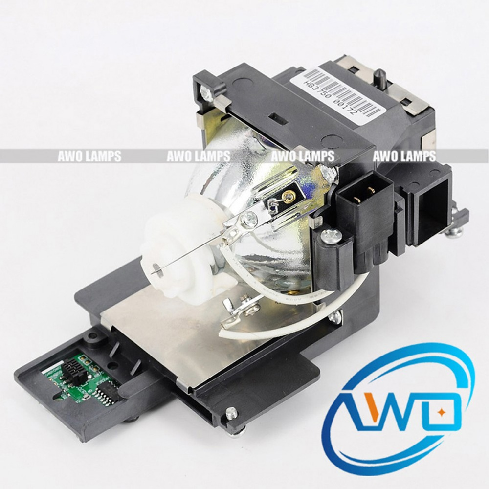 AWO POA-LMP148 Compatible Projector Lamp 610-352-7949 with Housing for SANYO Projector PLC-XU4000 150 Day Warranty lamp housing for sanyo 610 3252957 6103252957 projector dlp lcd bulb