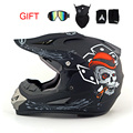 NEW! Профессиональный Легкий вес Rockstar off road мотоцикл шлем DOT утвержден мотоциклетный шлем байк передач головой