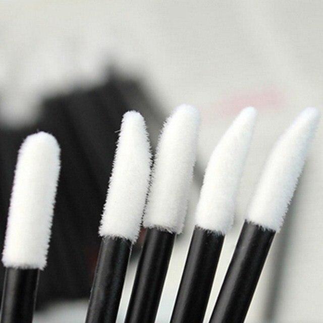 50 Pcs Disposable Lip Brush Eyelash Makeups Brushes Lash Extension Mascara Applicator Lipstick Wands Set Cosmetic Makeup Tools 1