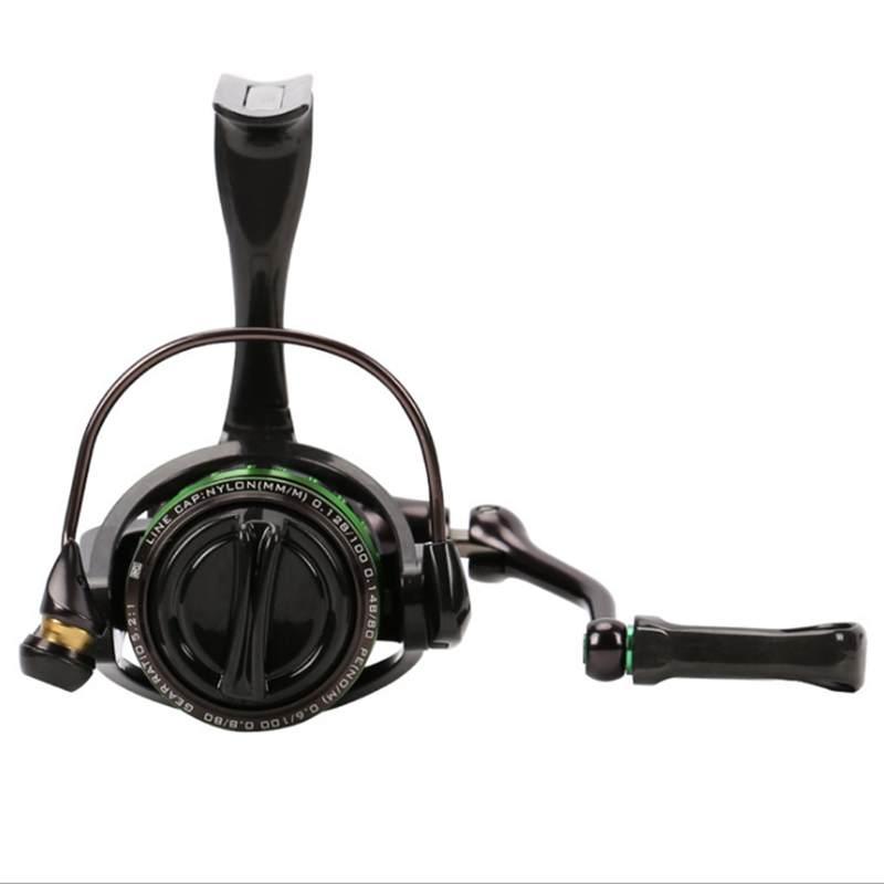 TSURINOYA kingfisher 800/1000 moulinet 162g Ultra léger ultra long tir pour petit appât 5.2: 1 10 + 1 glisser 4kgs moulinet de pêche - 6