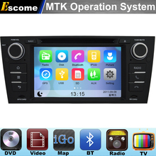 MTK3360 Car DVD Automotivo For BMW 3 Series E90 Saloon E91 Touring E92 Coupe E93 Cabriolet with Radio Stereo GPS Navigation