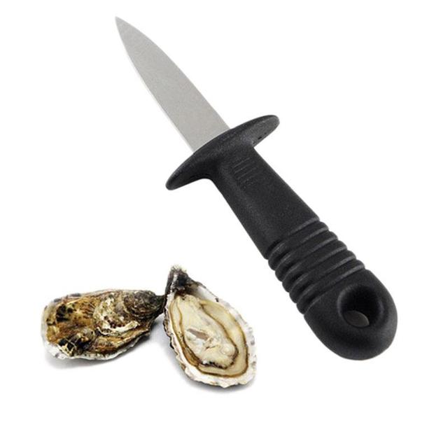 Multi-functional Oyster Knife Seafood Scallop Shell Shucking Opener Tools Practical Kitchen Oysters Tools Kitchen Gadget LPT3534