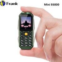 E6800ミニ電話3400 mahトーチブルートゥース学生電話電源