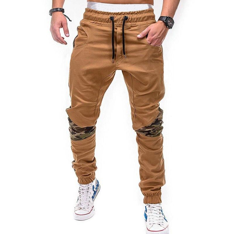 Hip Hop Jogger Pants Fashion Camouflage Patchwork Joggers Men Casual Streetwear Sweatpants Men ABZ120