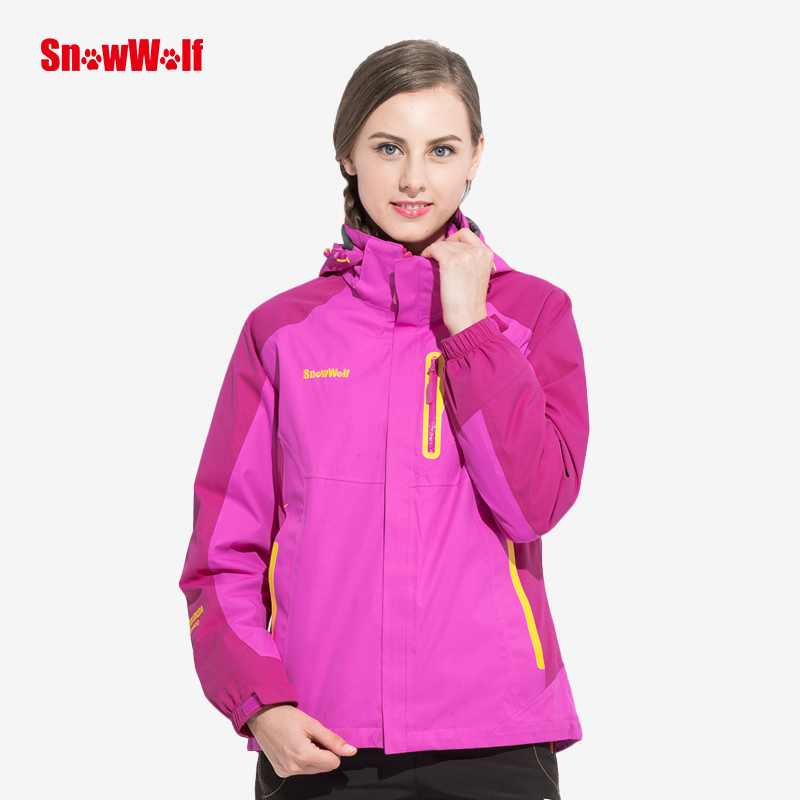 где купить SNOWWOLF Women Waterproof Jacket Outdoor Camping Trip Trekking Coat Windbreaker For Climbing Hiking по лучшей цене