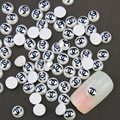 10pcs/lot X 3D Nail Art Decorations Rhinestone Jewelry Design Nail Art DIY Charms Pearl Studs Nail Tips PJ312A