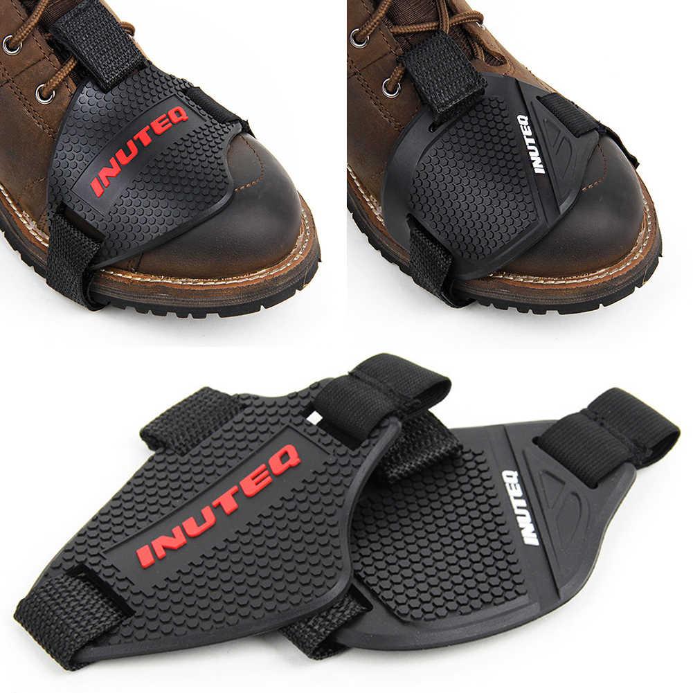 オートバイの靴保護オートバイギアシフター靴ブーツプロテクターバイクブーツカバー保護ギアシフトパッド