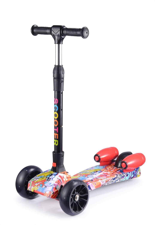 Anak Scooter 2019 Sekarang Anak Skuter Skuter Roda Tiga Lipat untuk Anak-anak dari 3 Tahun